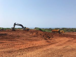 construction ridgeside
