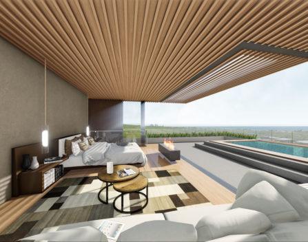 5. Internal View - Bedroom PNG