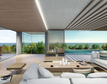 6. Internal View - Lounge PNG